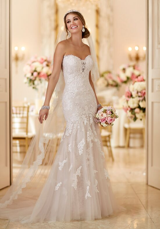 Stella York 6257 Mermaid Wedding Dress