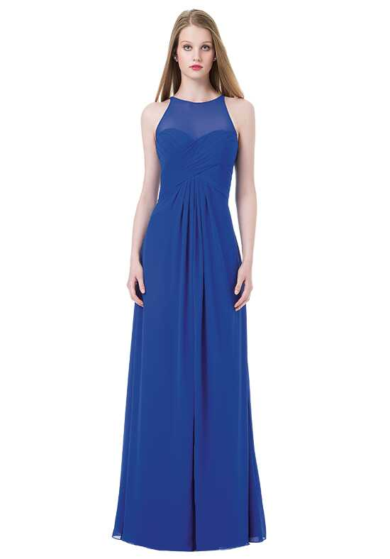 Bill Levkoff 1208 Illusion Bridesmaid Dress
