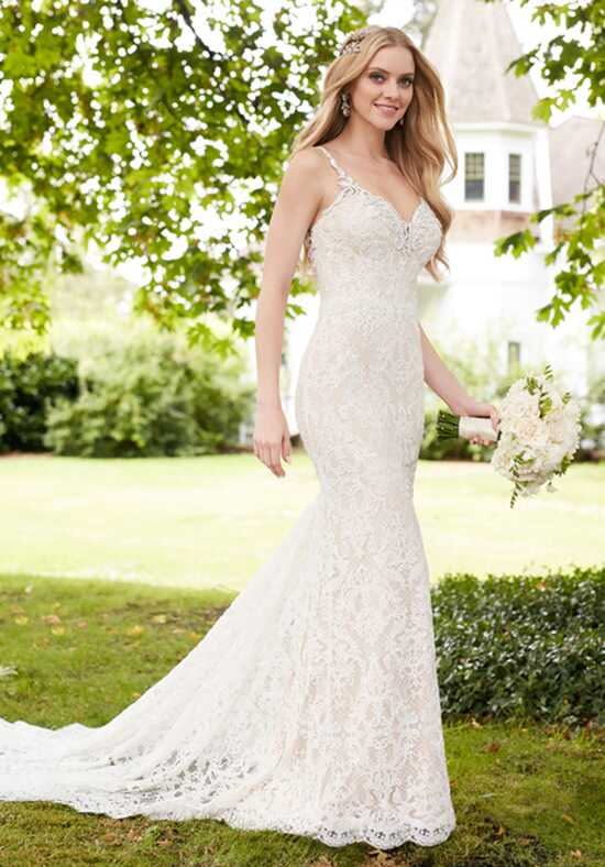 Martina Liana 854 Sheath Wedding Dress
