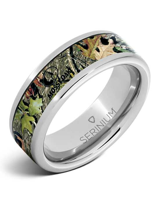 Serinium® Collection Mossy Oak® Obsession — Camouflage Serinium® Ring-RMSA002808 Serinium® Wedding Ring