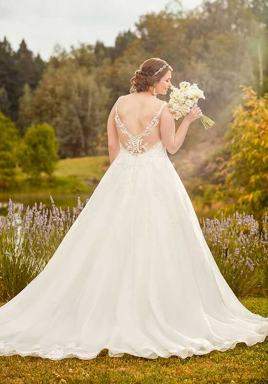 Essense of Australia D2343 Ball Gown Wedding Dress