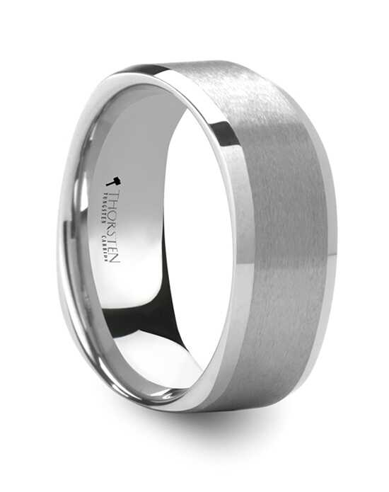 Mens Tungsten Wedding Bands W674-SQWT Tungsten Wedding Ring