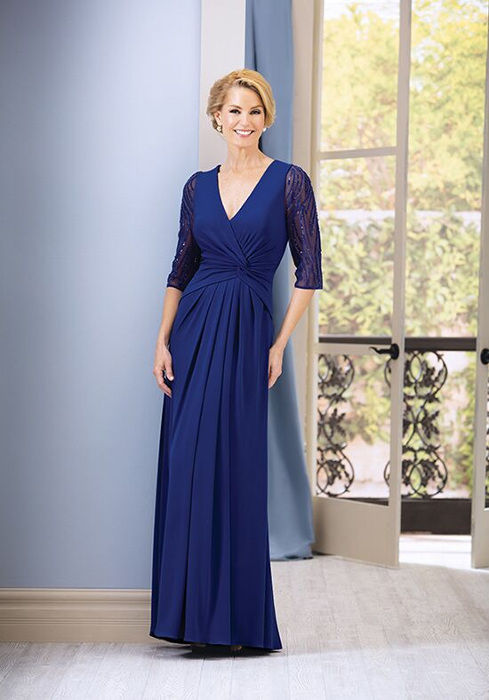Jade J185064 Blue Mother Of The Bride Dress