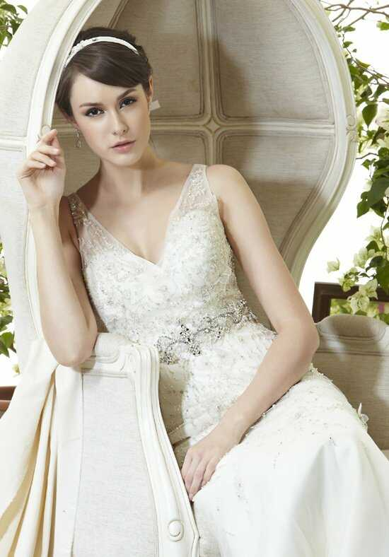 Saison Blanche Couture 4244 A-Line Wedding Dress