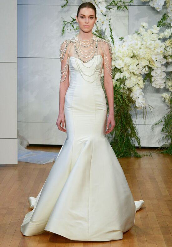 Monique Lhuillier Divine Mermaid Wedding Dress