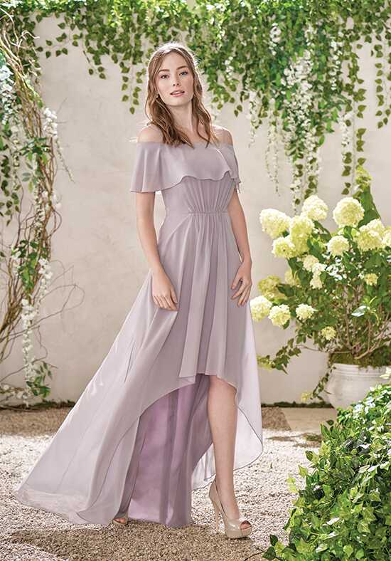 B2 by Jasmine B193017 Off the Shoulder Bridesmaid Dress