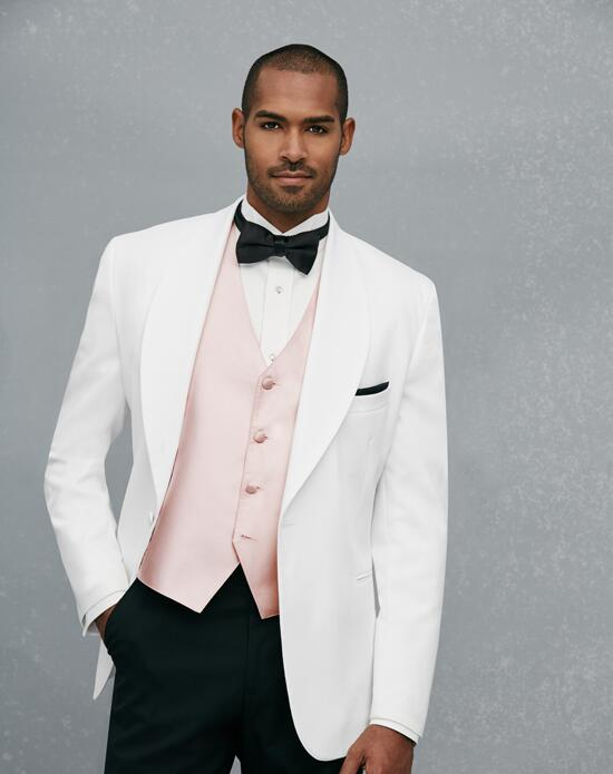 Jos. A. Bank One-Button Shawl Lapel Dinner Jacket Wedding Tuxedos + Suit photo