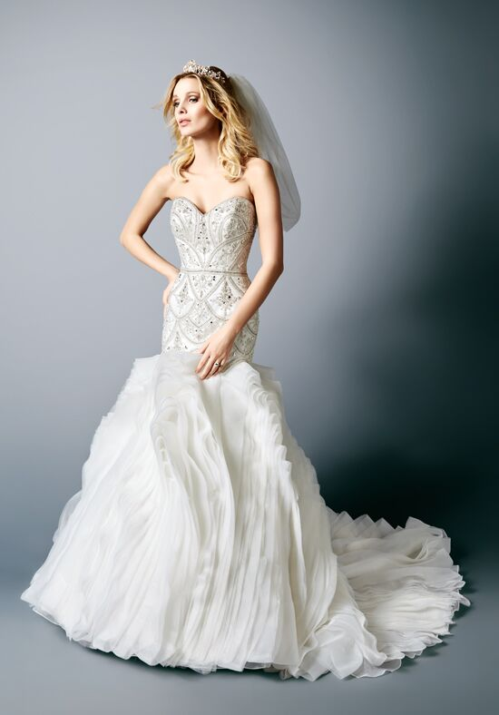 Val Stefani D8118 Mermaid Wedding Dress