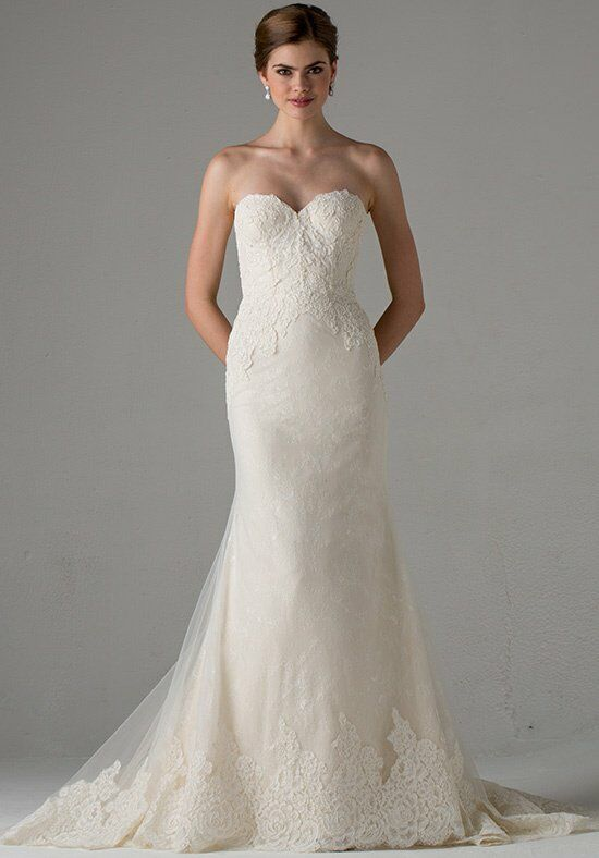 Anne Barge Avallon Sheath Wedding Dress