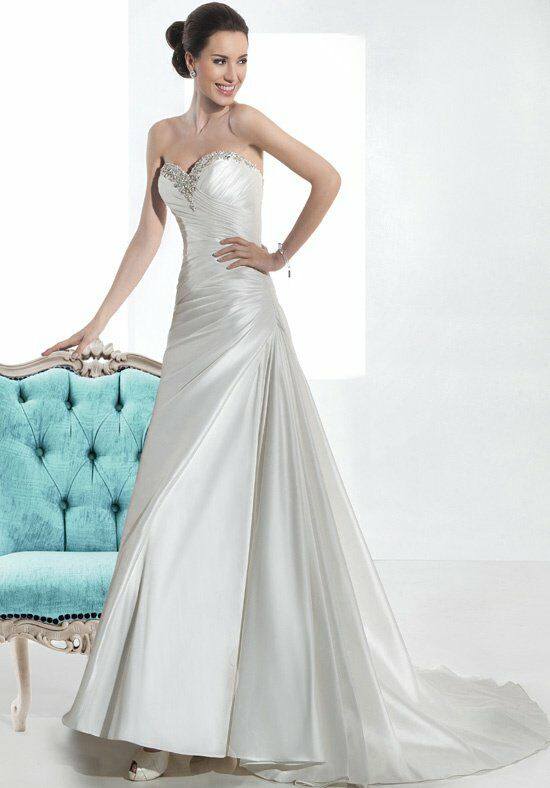 Demetrios 3208 A-Line Wedding Dress