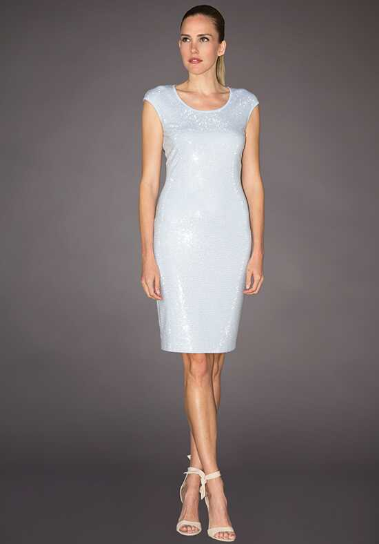 Grayse Wedding Party W142P017-Blue Blue Mother Of The Bride Dress