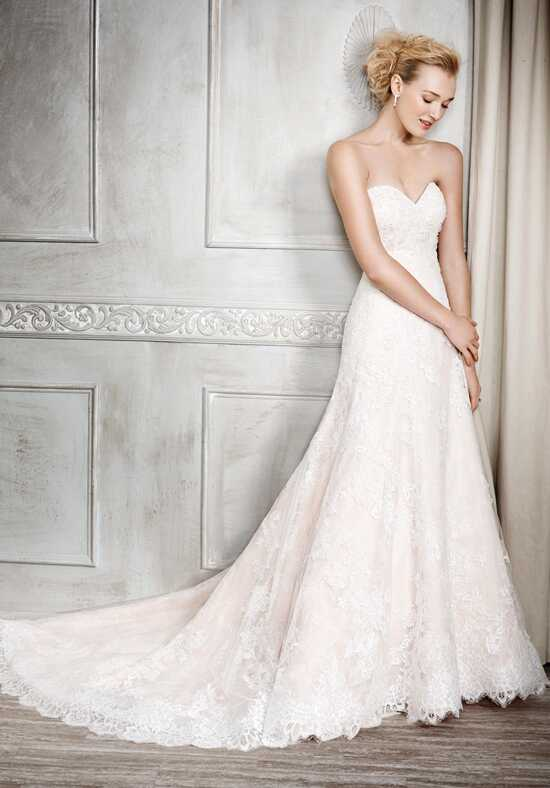 Kenneth Winston 1674 Sheath Wedding Dress