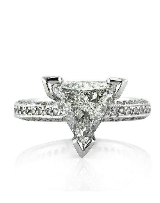 Mark Broumand Unique Cut Engagement Ring