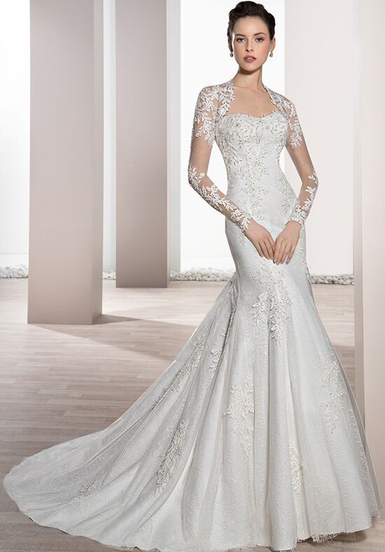 Demetrios 680 Mermaid Wedding Dress