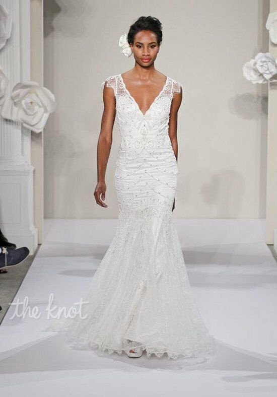 Pnina Tornai for Kleinfeld 4201 Sheath Wedding Dress