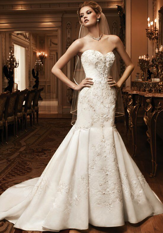 Casablanca Bridal 2124 Mermaid Wedding Dress