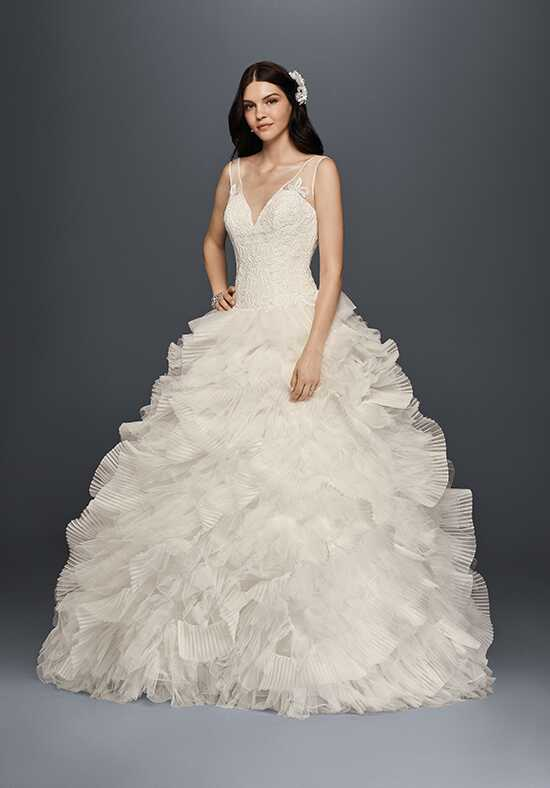 David's Bridal Galina Signature Style SWG759 Ball Gown Wedding Dress