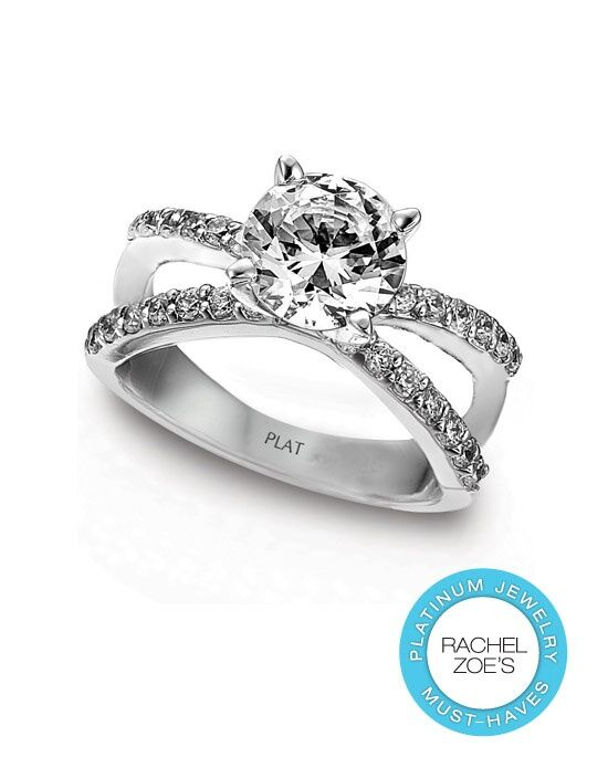 Deactive Rachel Zoes Platinum Must-Haves Mercury Ring Platinum Wedding Ring