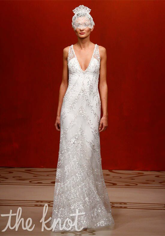 Reem Acra 4409 - Sunset Boulevard Mermaid Wedding Dress