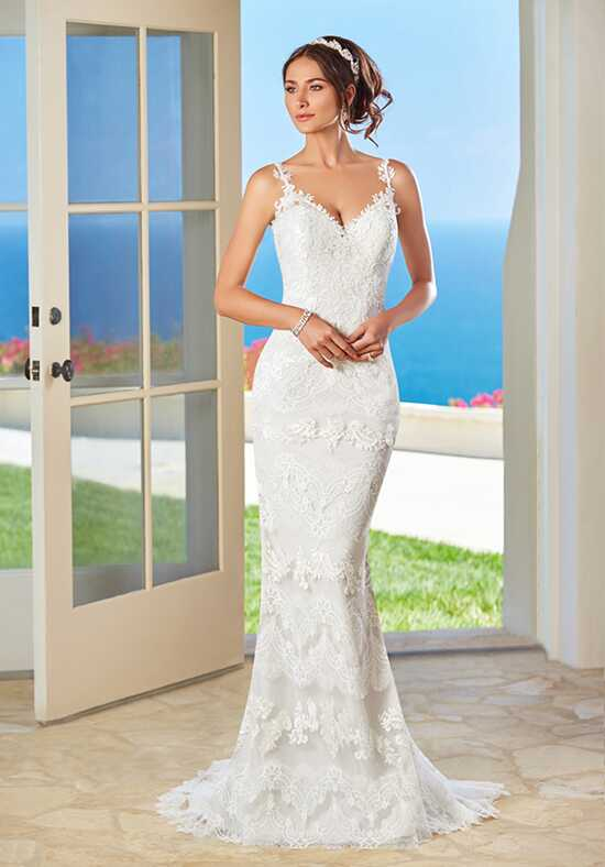KITTYCHEN Couture LANA, H1636 Sheath Wedding Dress