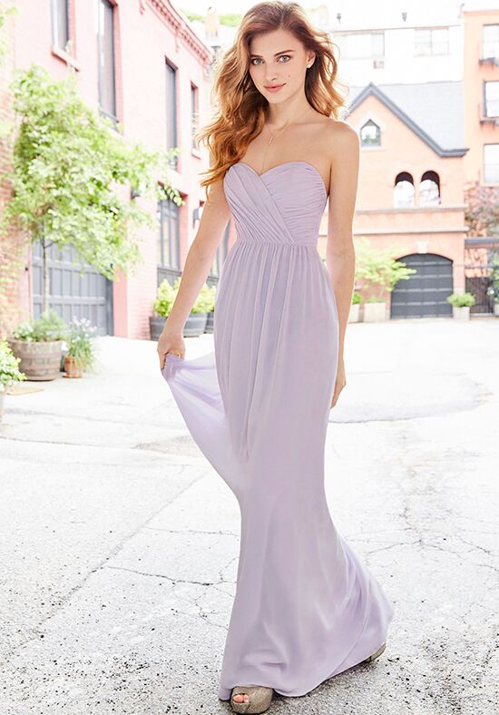Hayley Paige Occasions 5762 Strapless Bridesmaid Dress