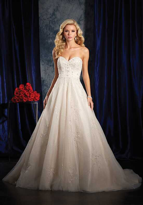 Alfred Angelo Sapphire Bridal Collection 993 Ball Gown Wedding Dress
