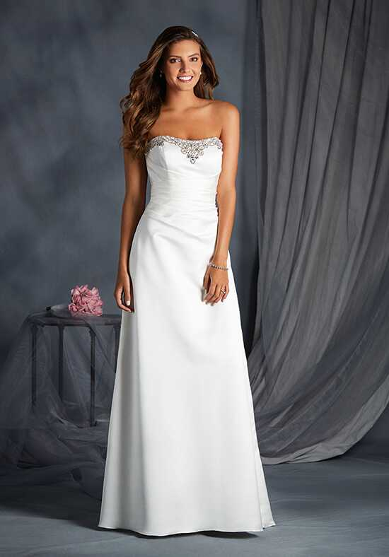 Alfred Angelo Signature Bridal Collection 2554 A-Line Wedding Dress