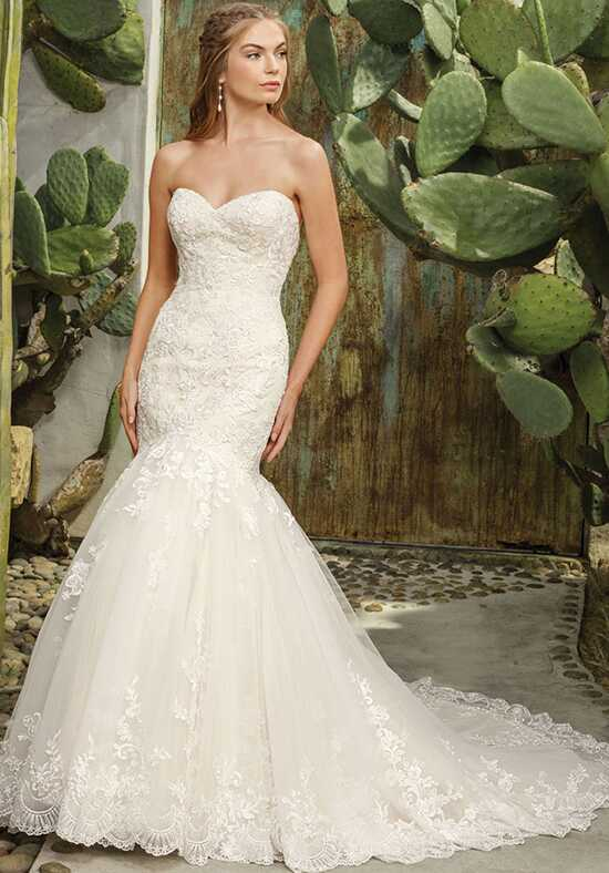 Casablanca Bridal Style 2293 Flora Mermaid Wedding Dress