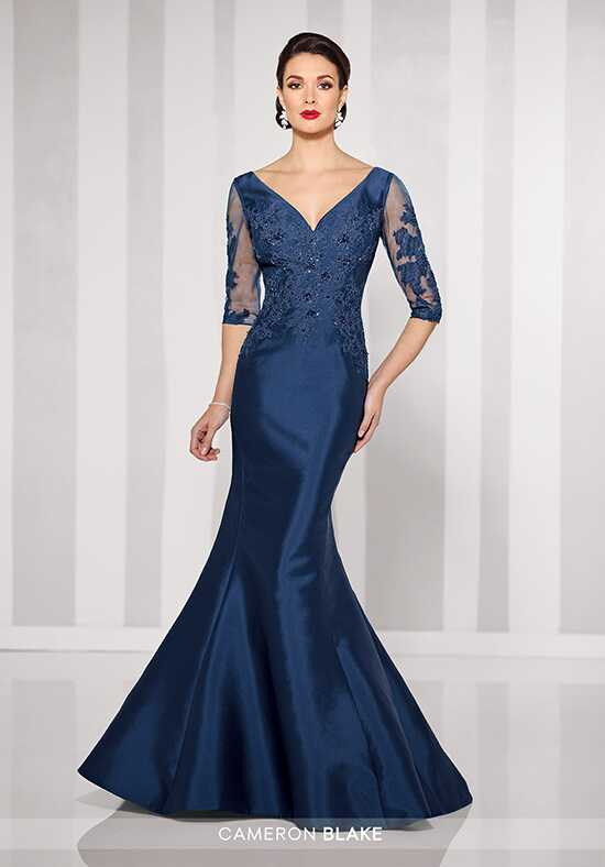 Cameron Blake 216678 Blue Mother Of The Bride Dress