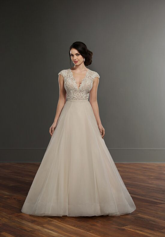 Martina Liana Bayley + Selby A-Line Wedding Dress