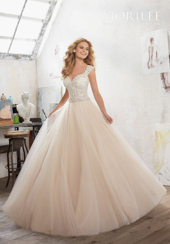 Morilee by Madeline Gardner Marigold/8126 Ball Gown Wedding Dress