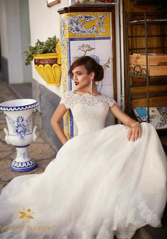 Capri Ornella A-Line Wedding Dress