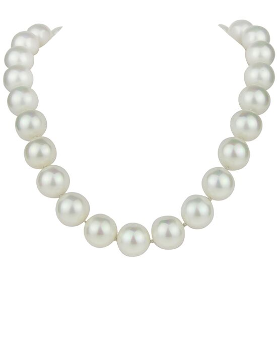 Nina Bridal Wedding Jewelry Indra 14mm Pearl Wedding Necklace photo