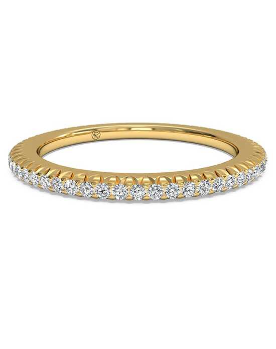 ritani womens open micropave diamond eternity wedding ring - Ritani Wedding Rings