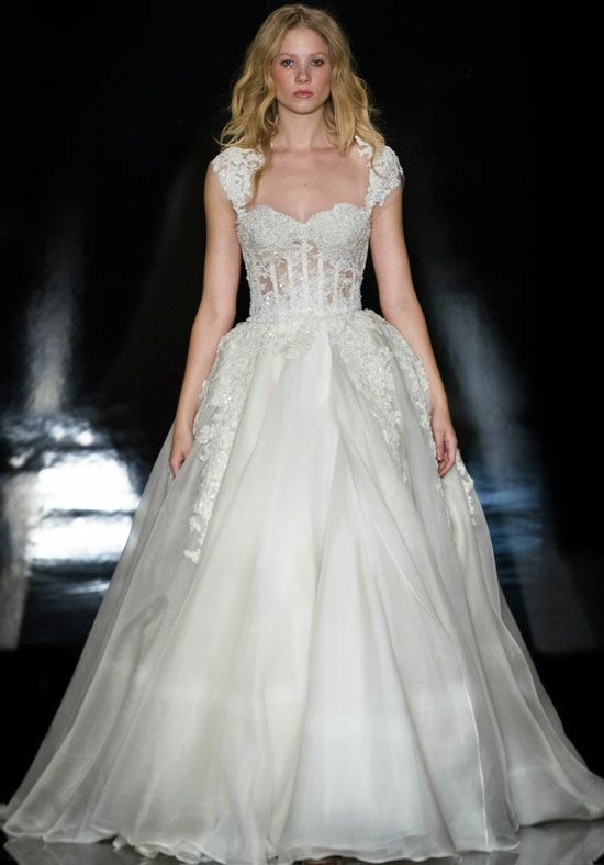 Reem Acra Alia Ball Gown Wedding Dress