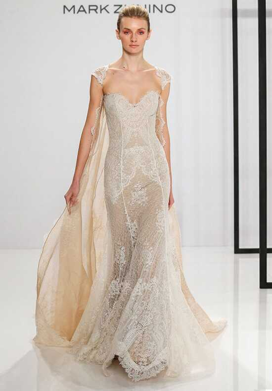 Mark Zunino for Kleinfeld 207 Sheath Wedding Dress