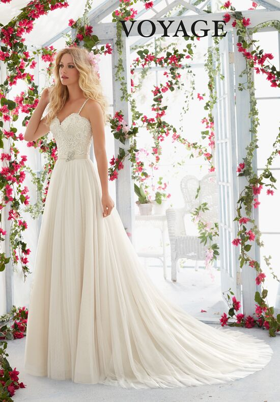 Morilee by Madeline Gardner/Voyage 6818 A-Line Wedding Dress