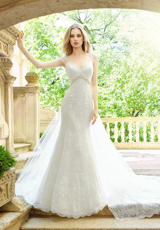 Moonlight Couture H1324 Mermaid Wedding Dress