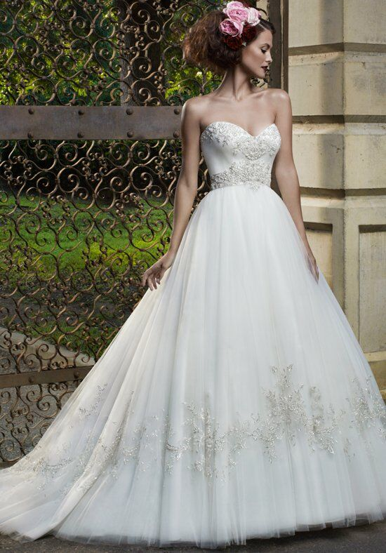 Casablanca Bridal 2077 Ball Gown Wedding Dress