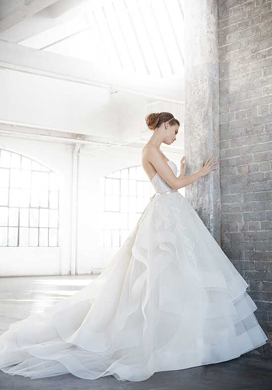 Lazaro 3601 Ball Gown Wedding Dress