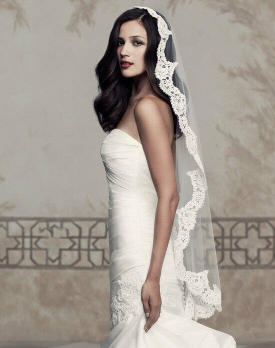 Paloma Blanca Veils Collection V430 Veil