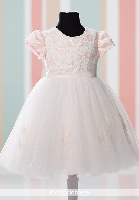 Joan Calabrese by Mon Cheri 216325B Ivory Flower Girl Dress