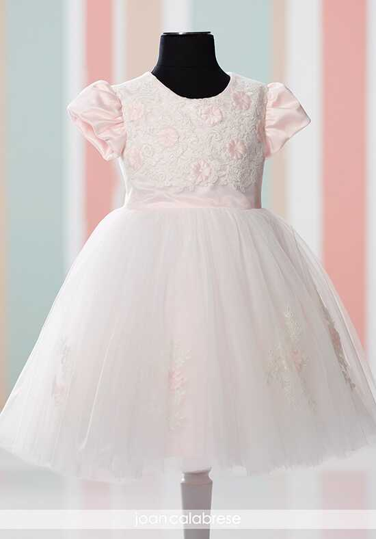 Joan Calabrese by Mon Cheri 216325B Pink Flower Girl Dress