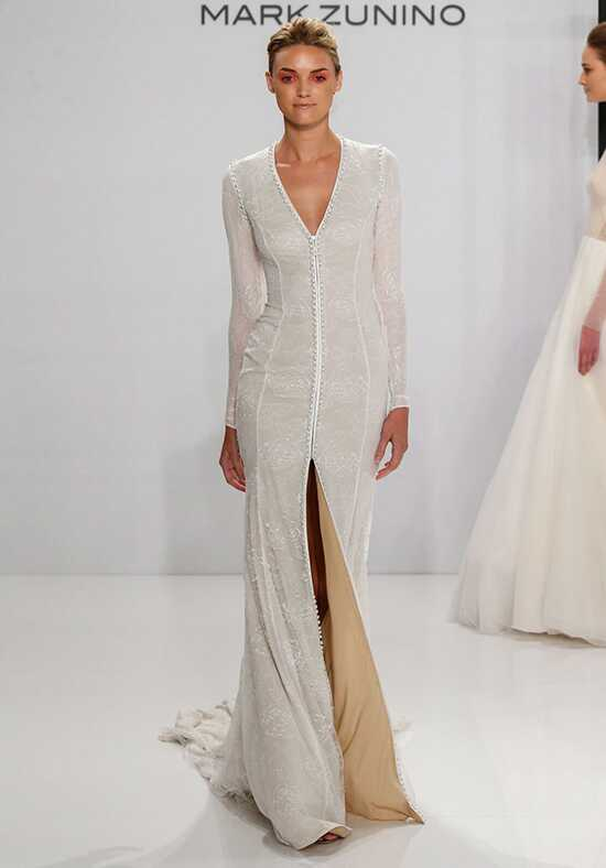 Mark Zunino for Kleinfeld 201 Sheath Wedding Dress