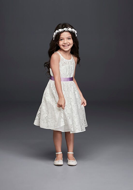 David's Bridal Flower Girl OP237 Flower Girl Dress