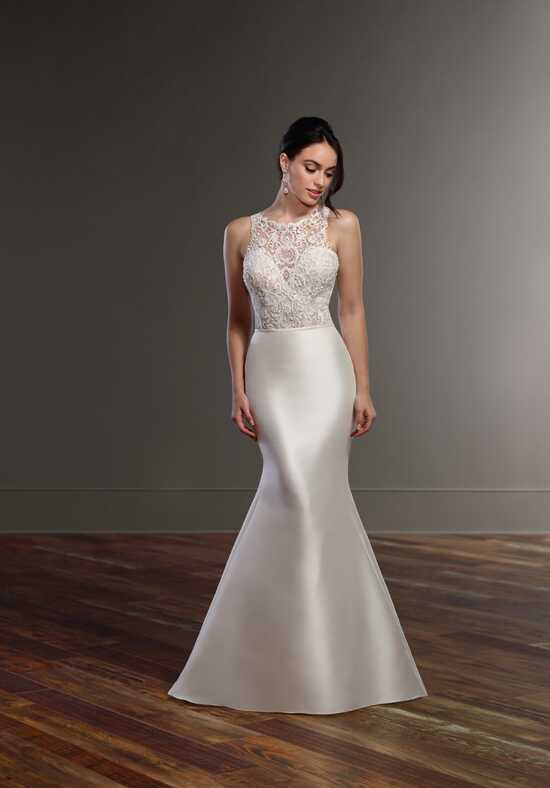 Martina Liana Brody+Selene Sheath Wedding Dress