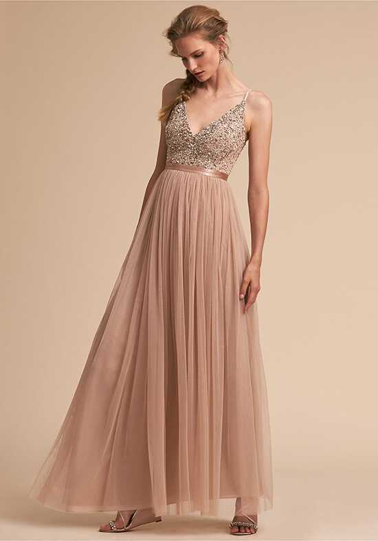BHLDN (Bridesmaids) Avery Dress V-Neck Bridesmaid Dress