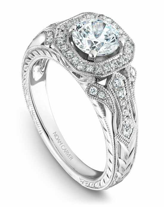 Noam Carver B079-01WS-100A Engagement Ring photo