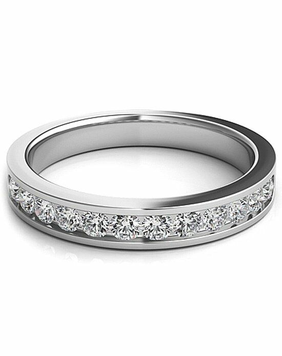 Since1910 SNTWB366 White Gold Wedding Ring