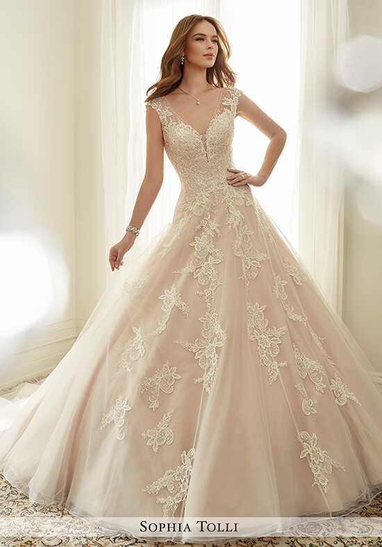 Sophia Tolli Y11705 Estelle Ball Gown Wedding Dress